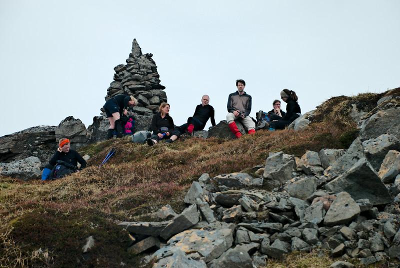 Sturla, Guðný, Anna Magga, Ólafur, Sigurður, Erna og Solveig