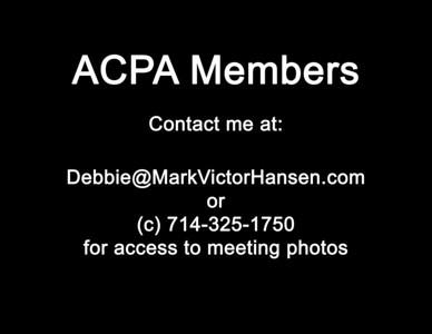 ACPA Meetings