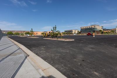 New parking lot 2021
