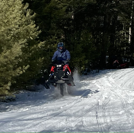 Snowmobiling 7 March 2021