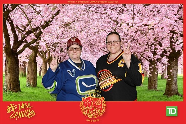 Vancouver Canucks Lunar New Year