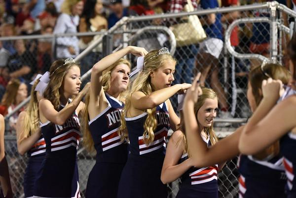 Cheerleaders - Platteview Football Game