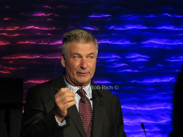 Alec Baldwin imitates Donald Trump at National Geographic ENCOUNTER Odyssey event in NYC  on 10-4-17. all photos by Rob Rich/SocietyAllure.com ©2017 robrich101@gmail.com 516-676-3939