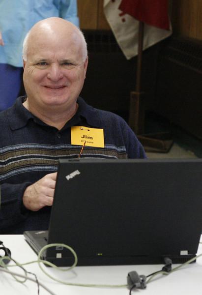 Jim O'Toole created a media table.