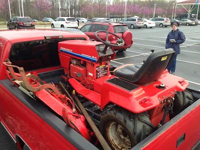 Gravey 18H tractor