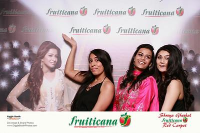 Shreya Ghoshal Concert with Fruiticana