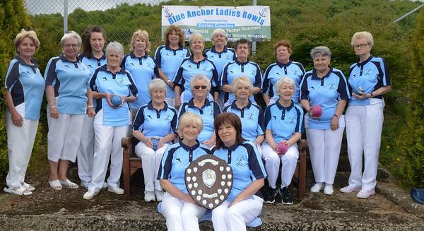 LAdies bowls club win leage