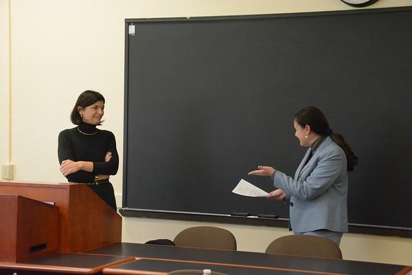 11/13: Professor Chiara Giorgetti