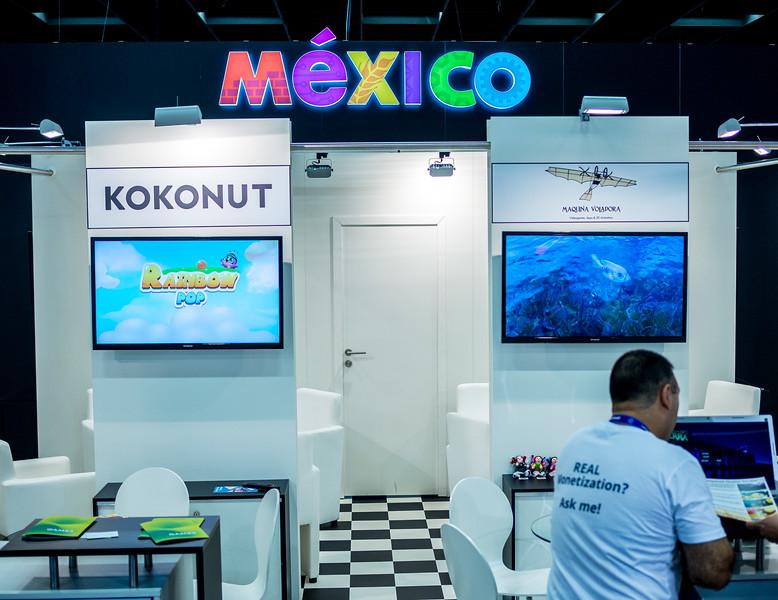 Mexico at Gamescom 2015