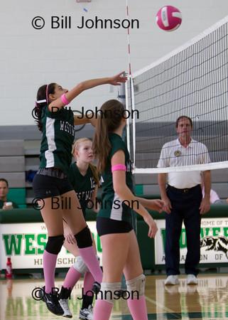 JV Volleyball Bellingham v Westwood 10_12_12