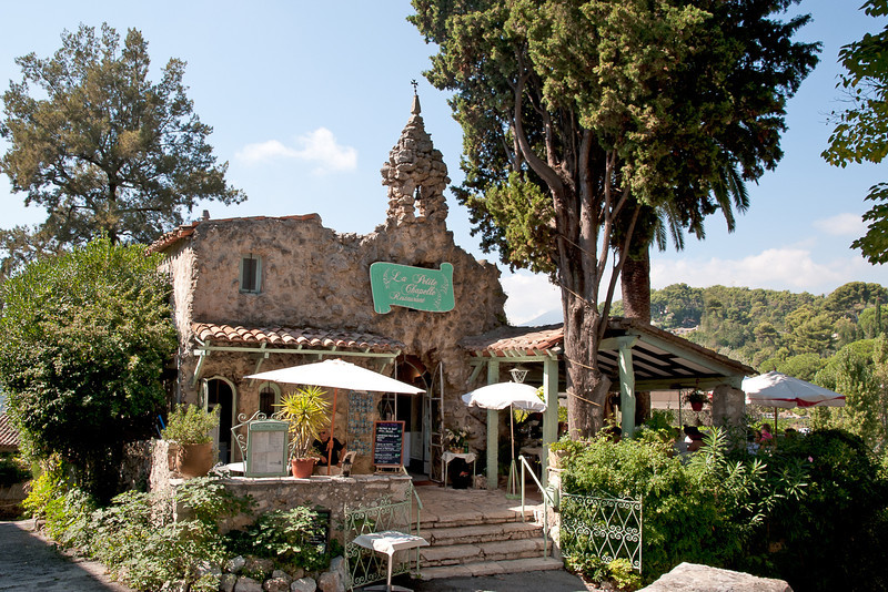Lunch at Saint Paul-de-Vence