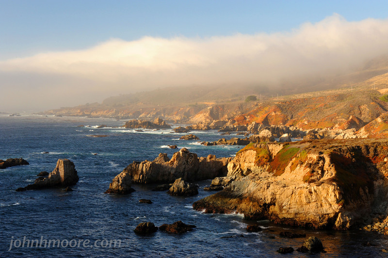 Central California shoreline