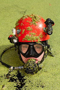 Christian Clark, Rolex Our World Underwater Scholar 2011 at Orange Grove Sink