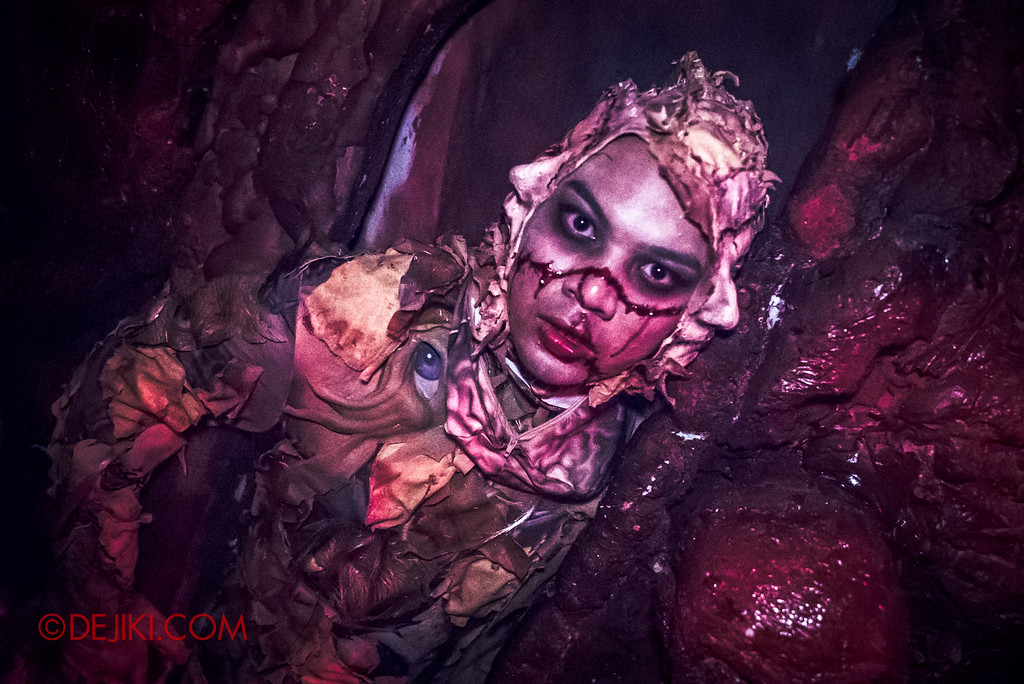 Halloween Horror Nights 6 - Bodies of Work / Cavern of Horrors escape scare