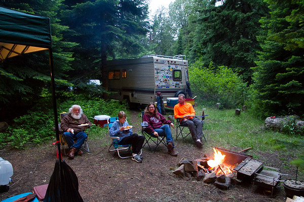 2017-06-17 Dancing in the Wilderness Camp Out, Hell's Crossing