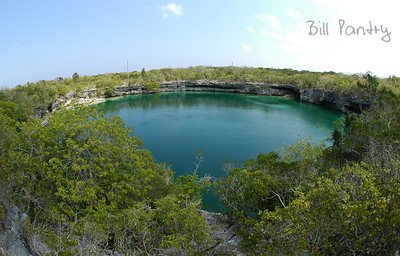Long Island - Gray's blue hole & cactus forest