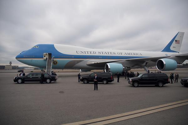 President Obama visits Manchester, N.H.