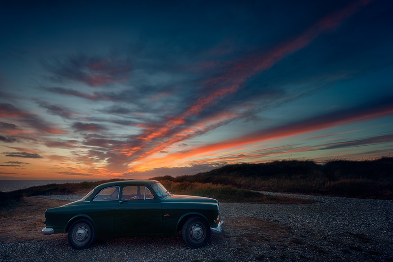 My Volvo in Jutland