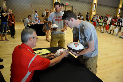 Celebrity Signing Series - Jim Tressel - May 5,2010