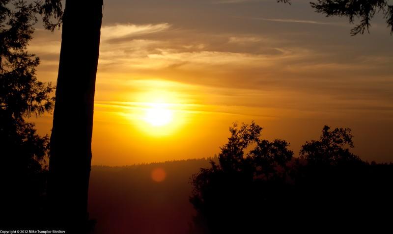 Sunset at Shake Ridge 2012-06-02-191023