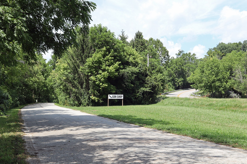 County Road 500 in Vermillion County, Indiana