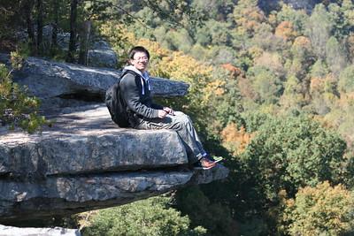 2010 October - Stone Door Hike with Chenxu +