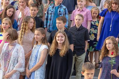 2018 TMP-M JH graduation