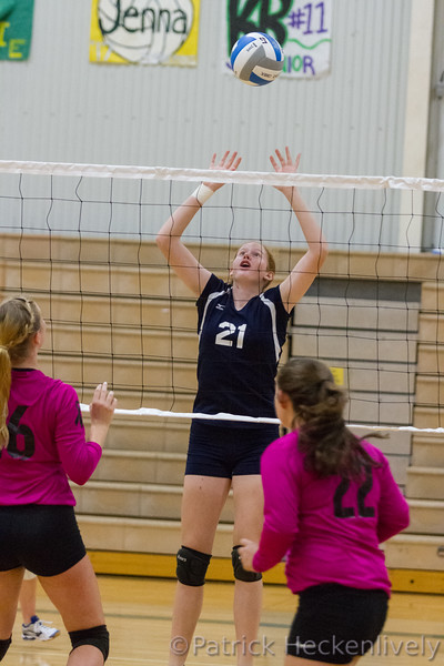 2016-10-01 Hillsdale Academy VV Volleyball at Sand Creek Tournament