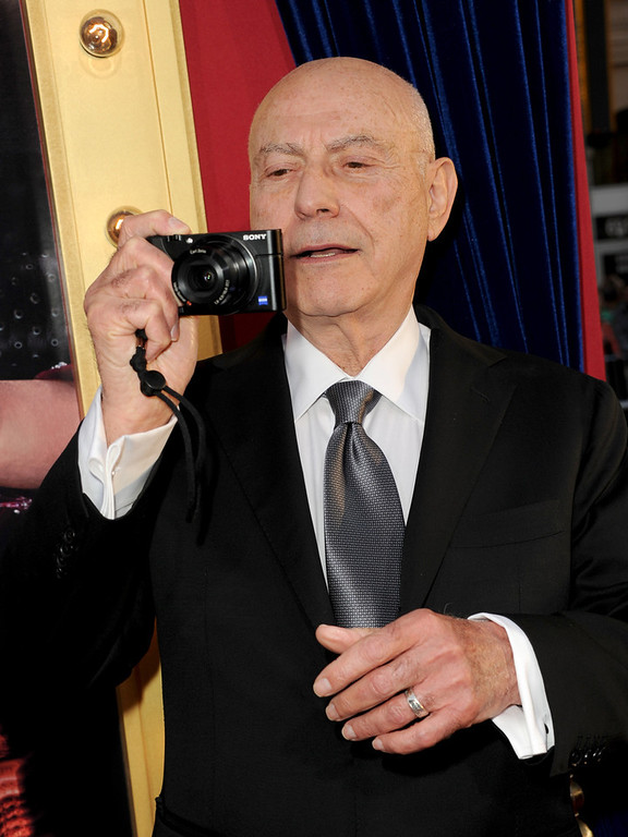 ". Actor Alan Arkin attends the premiere of Warner Bros. Pictures\' ""The Incredible Burt Wonderstone\"" at TCL Chinese Theatre on March 11, 2013 in Hollywood, California.  (Photo by Kevin Winter/Getty Images)"