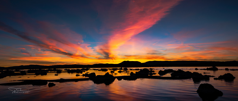 North Mono Lake Sunrise