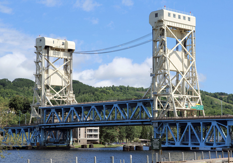 The Houghton Lift Bridge.