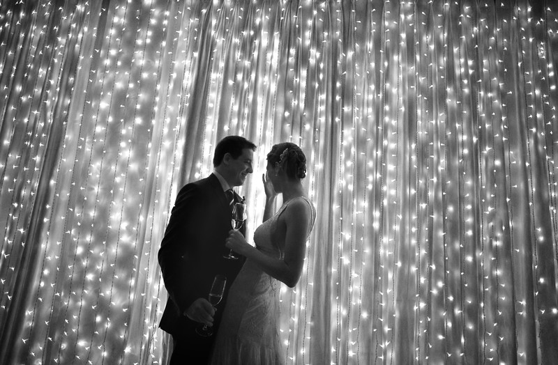 Fiary Light Wall makes a great backdrop for your photos or the cake!