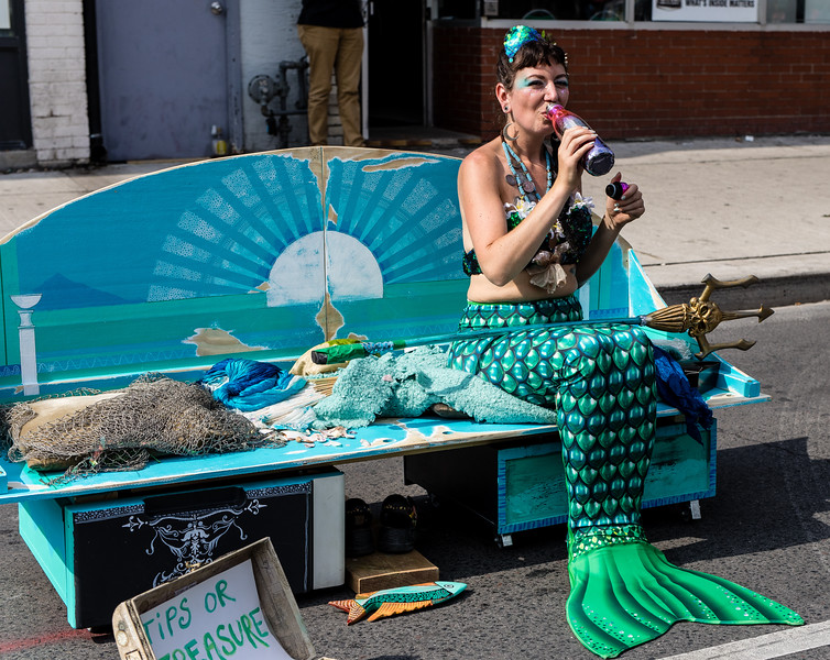 Even Mermaids Have To Have A Drink Now & Then