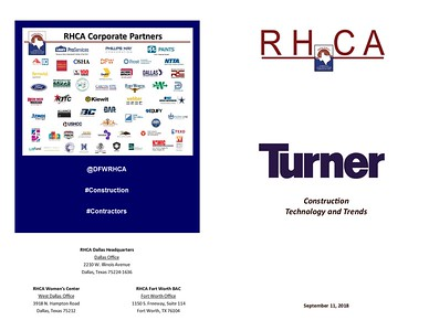 RHCA Technology and Trends 09 11 18