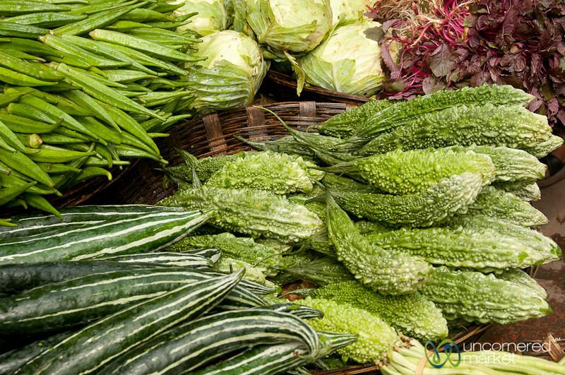Piles of Vegetables at Srimongal Market - Bangladesh