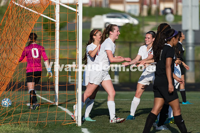 Girls Soccer: Potomac Falls vs. Briar Woods JV 4.25.16 (by Chas Sumser)
