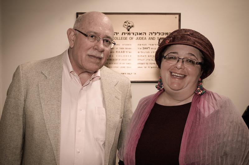 Joel Fishman and Elena Rimon