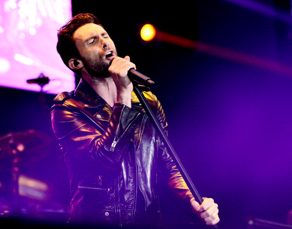 . CARSON, CA - MAY 11:  Singer Adam Levine of Maroon 5 performs at 102.7 KIIS FM\'s Wango Tango on May 11, 2013 in Carson, California.  (Photo by Kevin Winter/Getty Images)