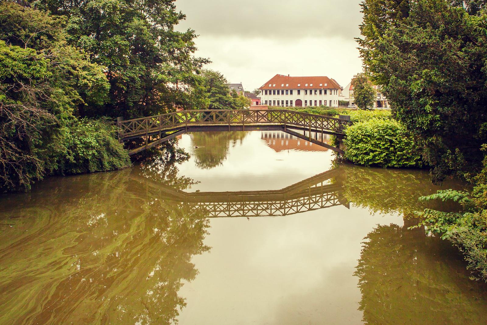 丹麦腓特烈堡城堡,周边街景