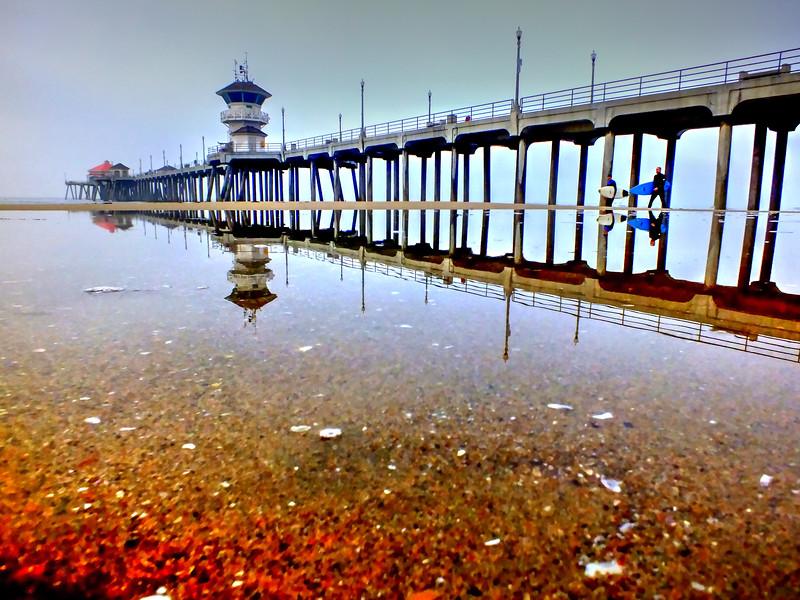 Winter Reflection Huntington Beach Pier.jpg