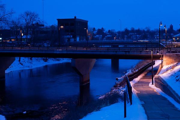 Eau Claire River Winter