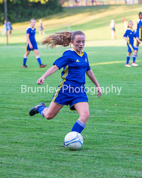 ECS Varsity Girls MS Soccer 8-20-18
