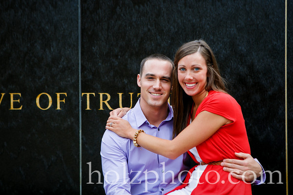 Kristina and Travis - Color Engagement Photos