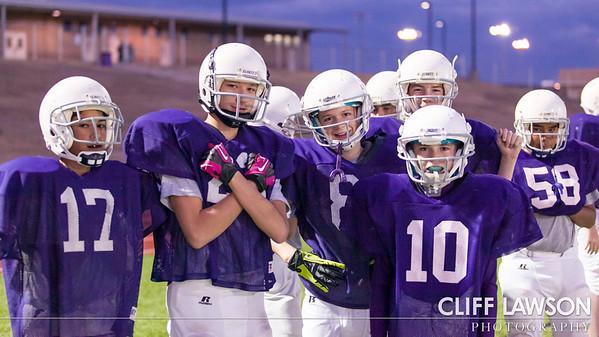 Canyon Jr. High Football