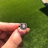 .53ctw Rose Cut Halo Ring, by Single Stone 51