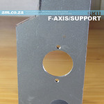 SKU: F-AXIS/SUPPORT, Y-Feeding Axis Supporting Bracket with Mounting Gear for FastCOLOUR-LITE 1600mm/1800mm Printer