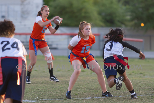 Boone Varsity Flag Football - 2011 #15