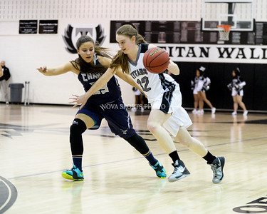 Girls Basketball: John Champe vs. Dominion 1.9.15