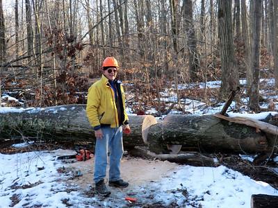 Trail Work Winter 2013