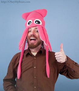 Medium Squid Hats